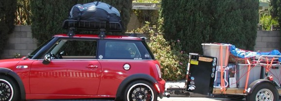 Overloaded – When it comes to your car less is most definitely more