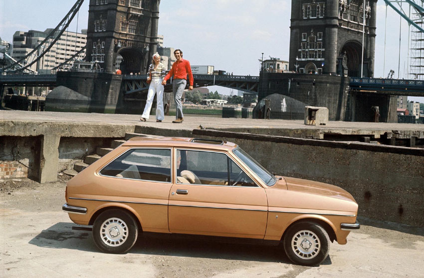 1976 In the midst of a fuel crisis the Ford Fiesta was launched