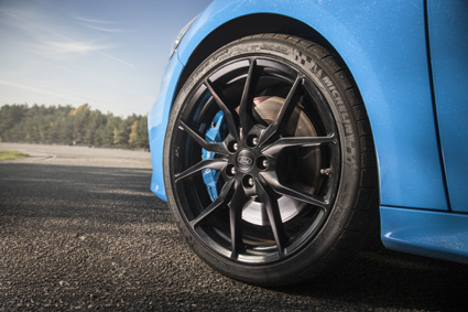 The new RS has a top speed of 266 km/h