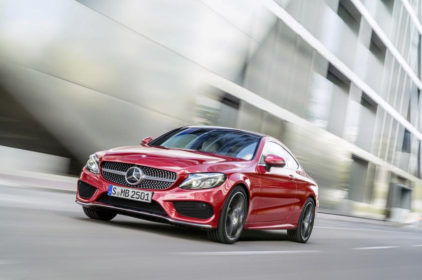 The new Mercedes-Benz C-Class Coupé