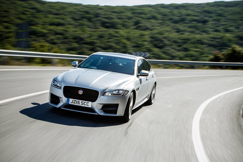 The all-new Jaguar XF: lighter, more efficient and packed with technology