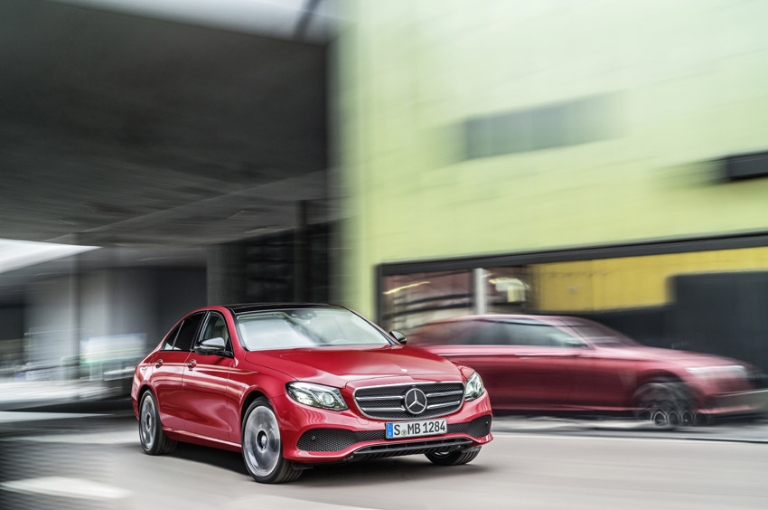 The E-Class is the first to benefit from the new 2.0-litre four-cylinder diesel that replaces the 2.2-litre.