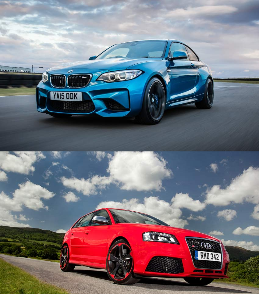 Bmw M2: BMW's Mighty M2 Versus Audi's Awesome RS 3