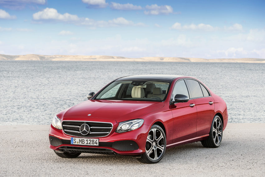 The new E-Class brings numerous technical innovations