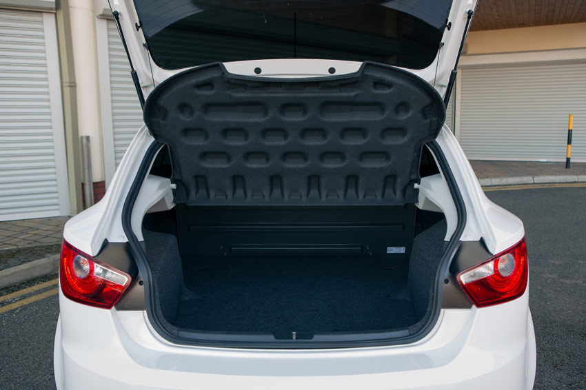 The Ibiza Van can carry up to 930 litres