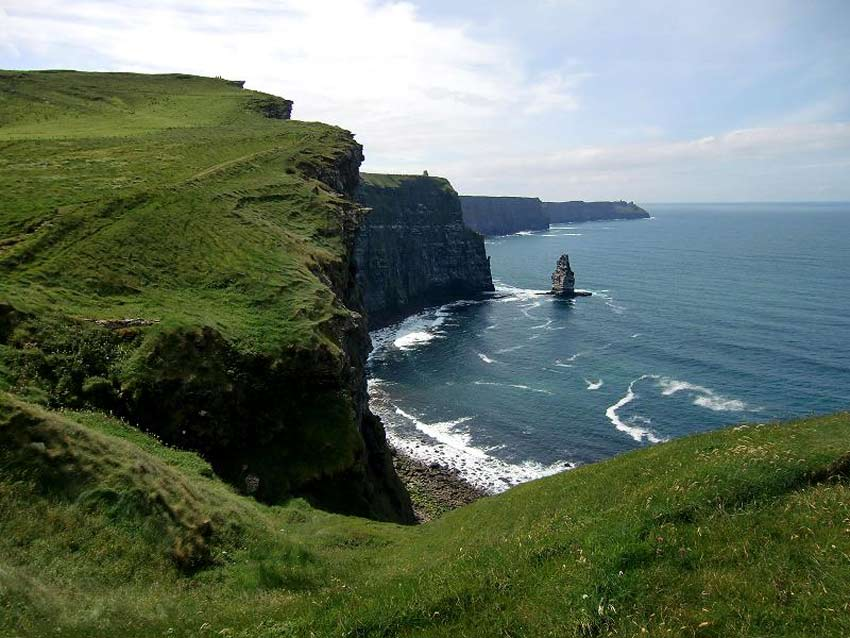 The Cliffs of Moher are Clare according to the survey the most dangerous drive in the country is to the Cliffs of Moher in Clare