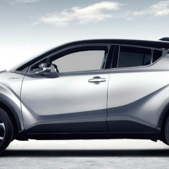 Nikki Hayes drives the Toyota C-HR