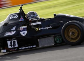 Jennifer Mullan competes for the 2016 Walter Hayes Trophy in Silverstone