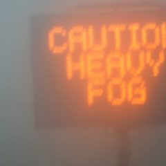 What to do when driving in fog
