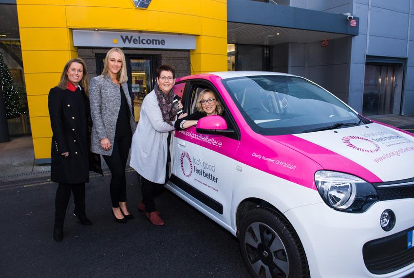 Renault Ireland and Irish charity 'Look Good Feel Better'.