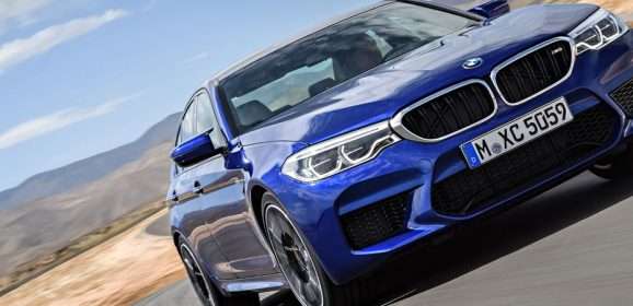 Eight things to know about the 2018 BMW M5