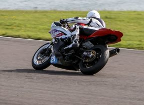 Nicole Lynch making her mark at Anglesey