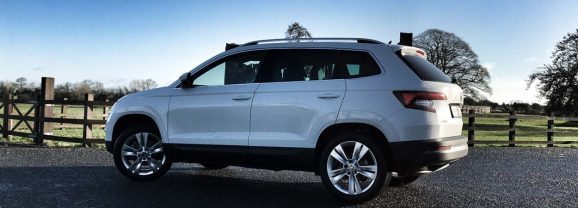 Nikki Hayes drives the Skoda Karoq