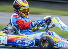 Fourth place finish for Alyx Coby at Mondello Park.