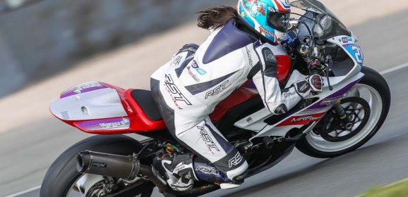 Flogas lends 'wheely' great support to motorbike racer Nicole Lynch
