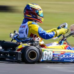 Podium finish and two fastest laps for Alyx Coby in Galway.