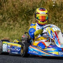 Alyx Coby secures podium finish in round five of the Motorsport Ireland Karting Championship