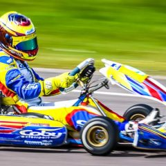 Pole position, podium finish and lap record for Alyx Coby
