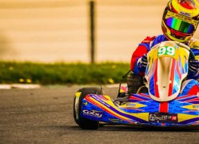 Podium finish and new lap record for 14-year-old Alyx Coby at Mondello Park