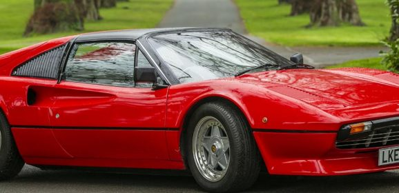 First Drive: Electric Ferrari 308