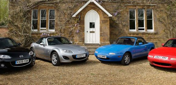 30 years of the Mazda MX-5